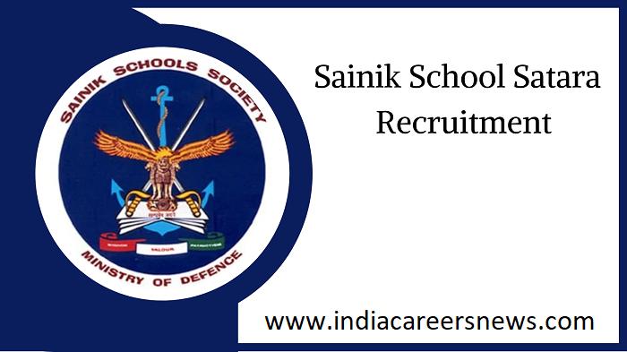 Sainik School Satara Recruitment