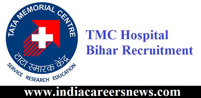 TMC Hospital Bihar Recruitment