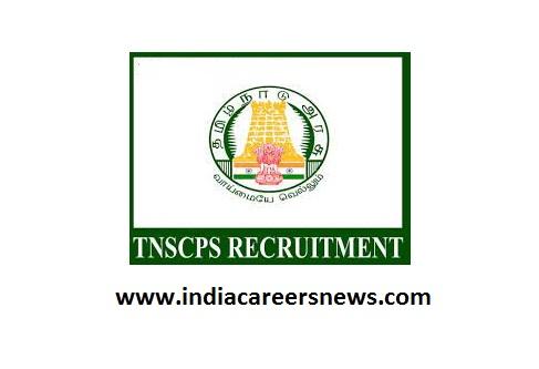 TNSCPS Recruitment