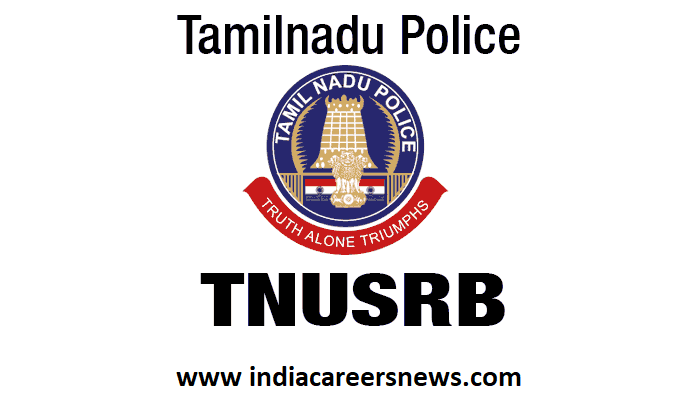 TNUSRB TN Police Recruitment