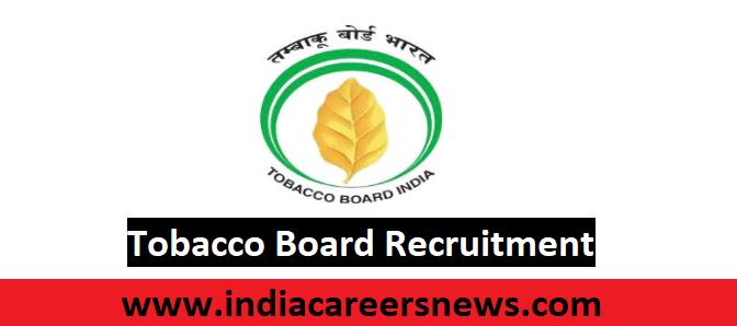 Tobacco Board Recruitment