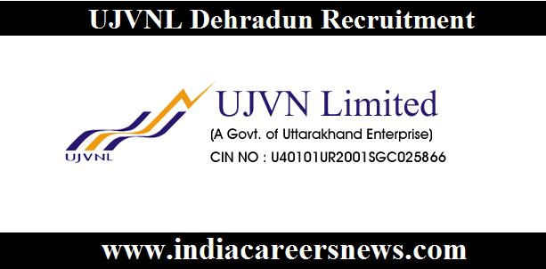 UJVNL Dehradun Recruitment