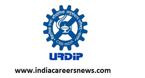 URDIP Recruitment