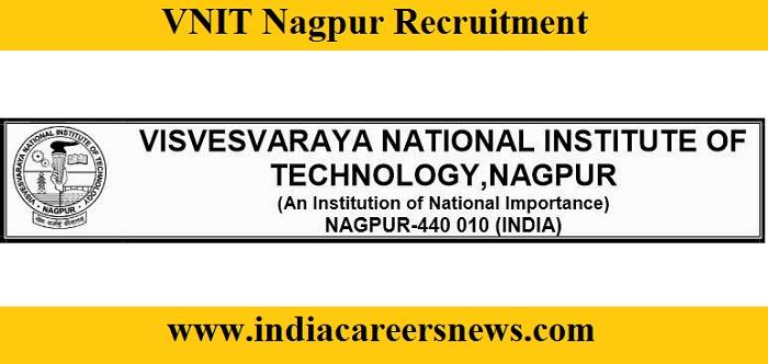 VNIT Nagpur Recruitment