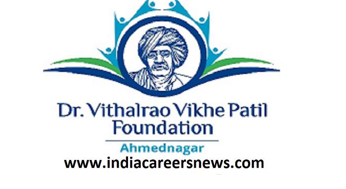 Vikhe Patil Nursing College Recruitment