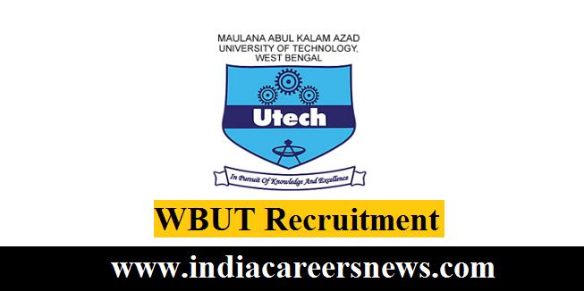 WBUT Recruitment