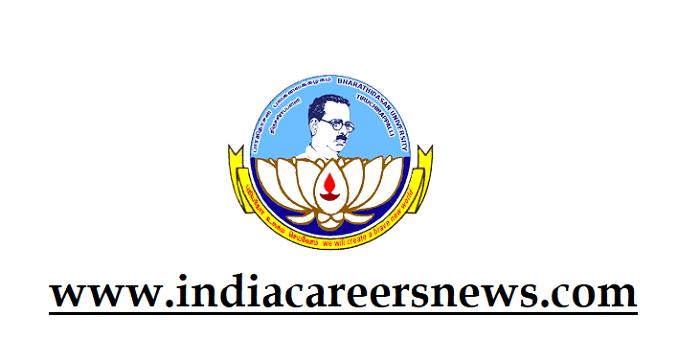 Bharathidasan University (BDU) Recruitment
