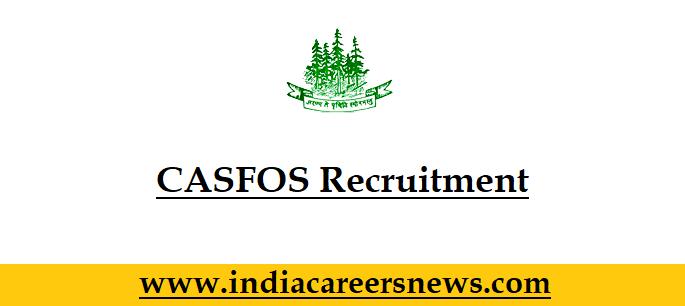 CASFOS Recruitment