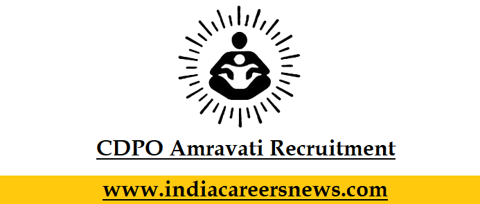 CDPO Amravati Recruitment