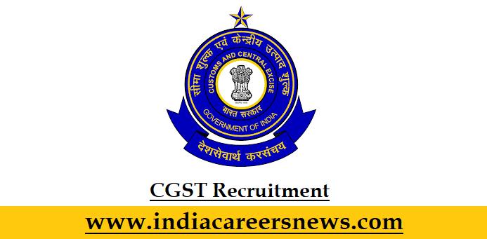 CGST Recruitment
