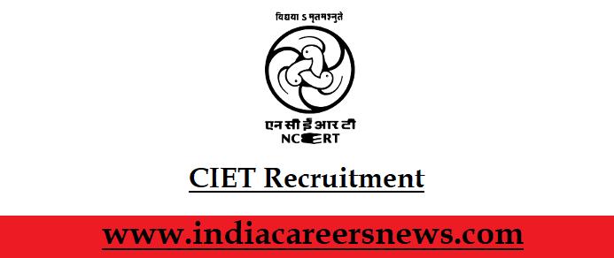 CIET Recruitment