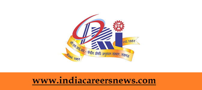 CSIR-CDRI Recruitment