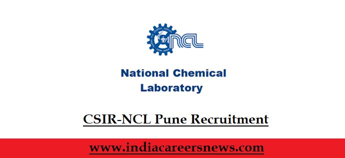 CSIR-NCL Pune Recruitment