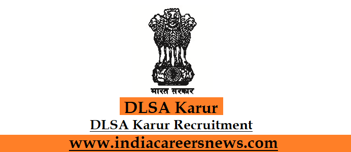 DLSA Karur Recruitment