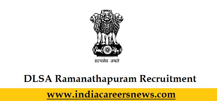 DLSA Ramanathapuram Recruitment