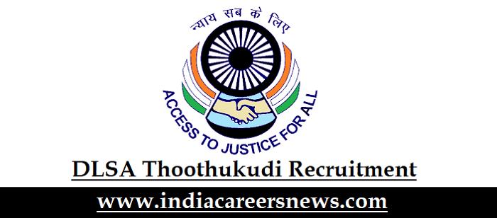 DLSA Thoothukudi Recruitment