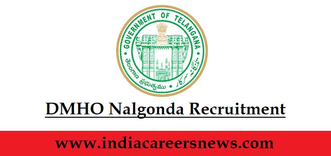 DMHO Nalgonda Recruitment
