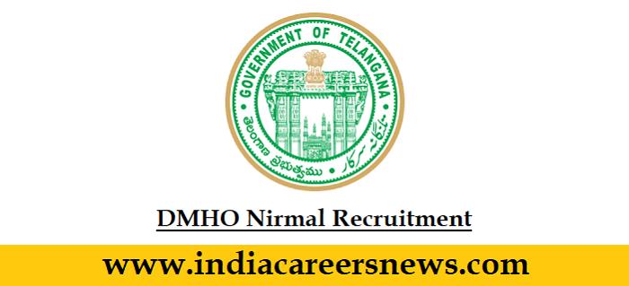 DMHO Nirmal Recruitment