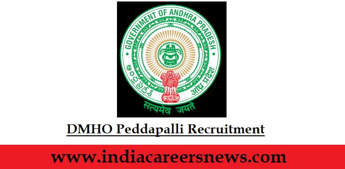 DMHO Peddapalli Recruitment
