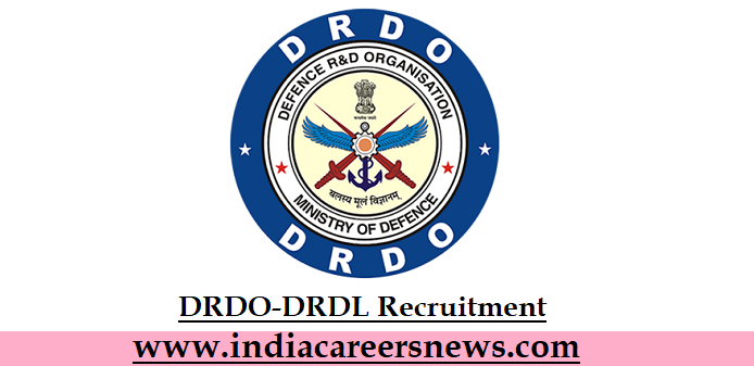 DRDO-DRDL Recruitment