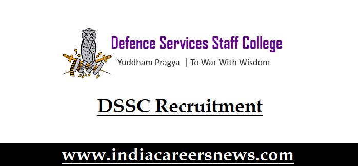 DSSC Recruitment