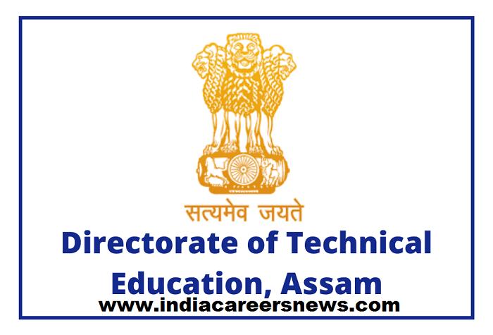 DTE Assam Recruitment