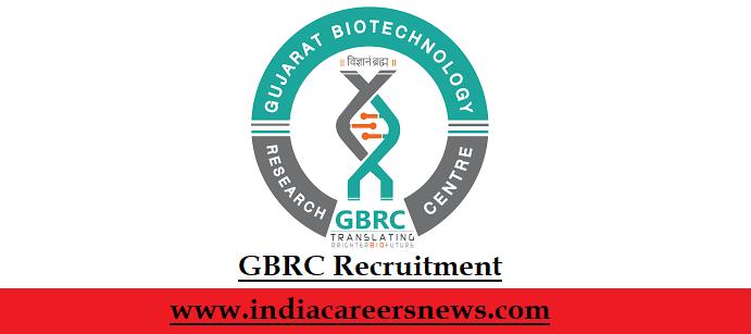 GBRC Recruitment