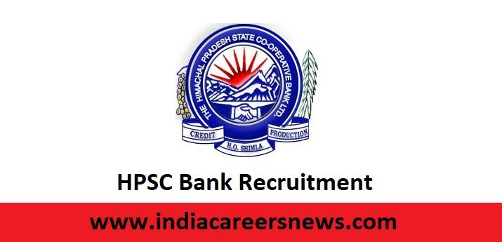 HPSC Bank Recruitment