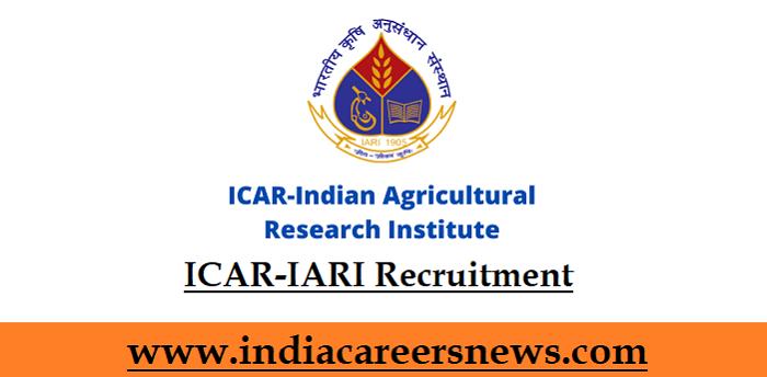 ICAR-IARI Recruitment