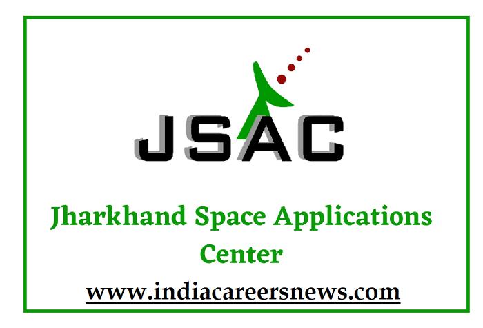 JSAC JRF And SRF Recruitment