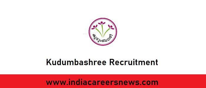Kudumbashree Recruitment