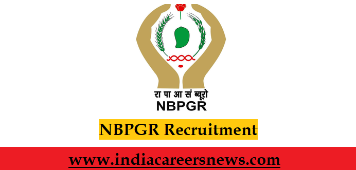NBPGR Recruitment