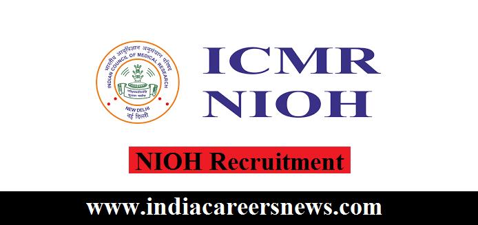 NIOH Recruitment