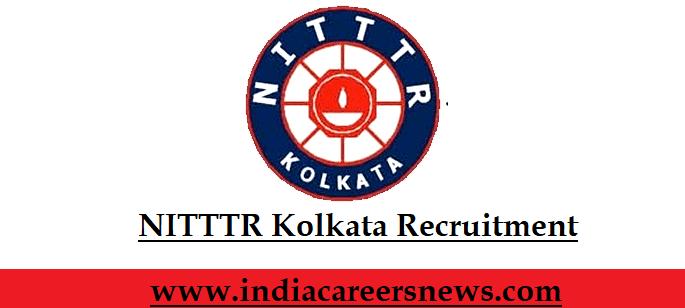 NITTTR Kolkata Recruitment