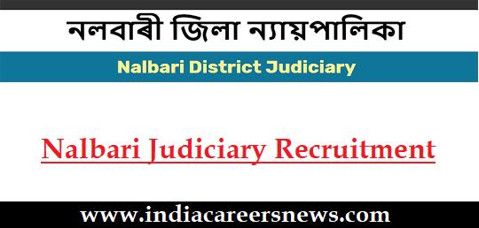 Nalbari Judiciary Recruitment