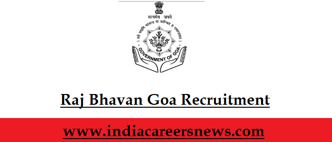 Raj Bhavan Goa Recruitment