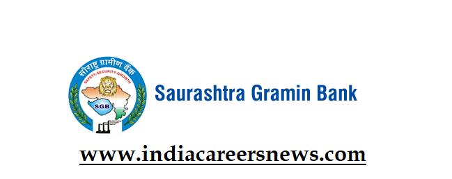 Saurashtra Gramin Bank Recruitment