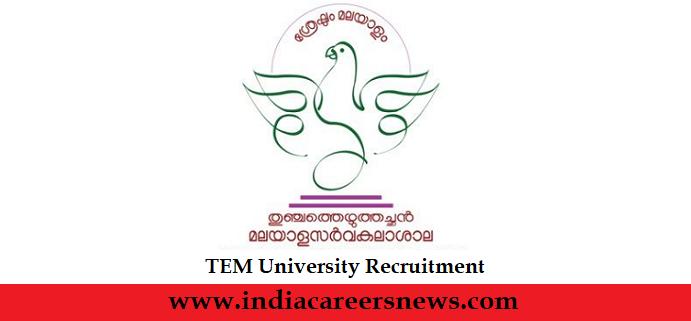 TEM University Recruitment
