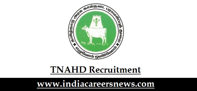 TNAHD Recruitment