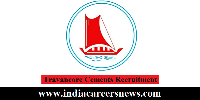Travancore Cements Recruitment